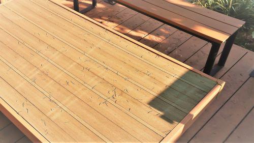 合成木材エクステリアの例